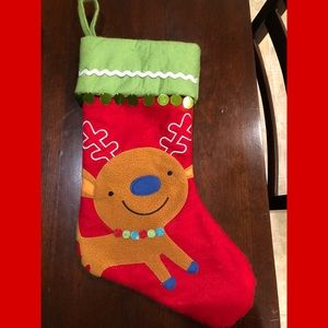 Christmas Reindeer Stocking from Target